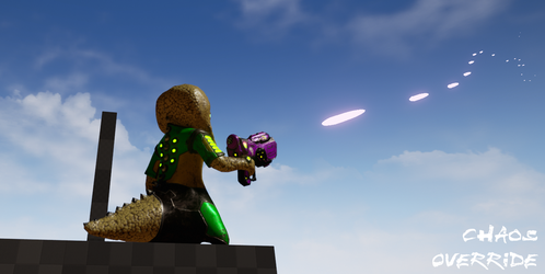 Aim Offset test on Unreal Engine by HyperSnake22