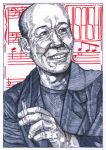 Joe Hisaishi by WolfMagnum