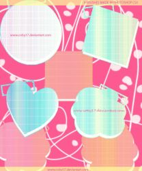 Cute Text Frames Brushes by Coby17
