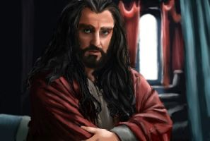 Thorin The Dwarven Prince by GretaMacedonio