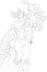 HSQ-Vision Lineart Commish 01 by theCHAMBA