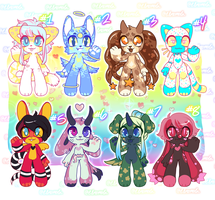 [2/8 OPEN] Flatprice Sparkle Adopts $8 PRICE DROP by Elmomola