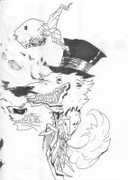 A Wolf and a Fish by soliton