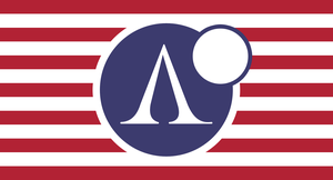 Flag of the Republic of Armstrong by RvBOMally