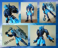Bionicle MOC: Helryx(OoMN Leader) by TheAxelandx1