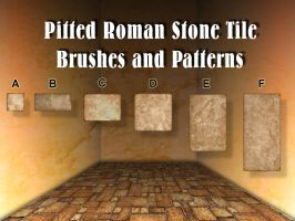 Pitted Roman Stone by Geosammy