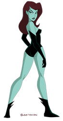 Poison Ivy - DCAU by Glee-chan