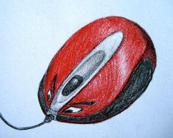 Old mouse drawing by azzza
