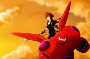 KH3 - Big Hero 6 by blacksun30