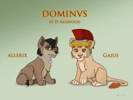 Allerix and Gauis - Dominus by catherine-dair