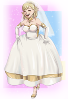 Bridal Sharena (Fire Emblem Heroes) by FieryJinx
