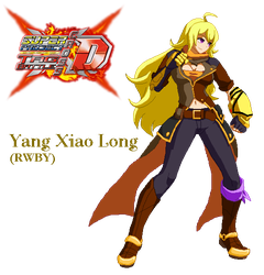 Super Project Cross Tag - Yang Xiao Long by Crisostomo-Ibarra