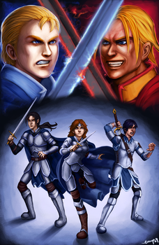 Destiny Knights - Book 5 Cover by emperial