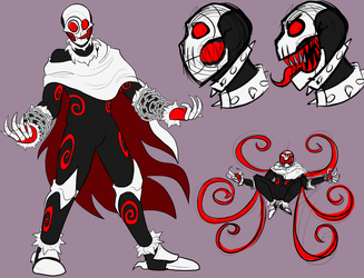 Character Creation Commission: Revenant901(2) by LulzyRobot