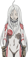 Shiro Deadman Wonderland Vector by truss31