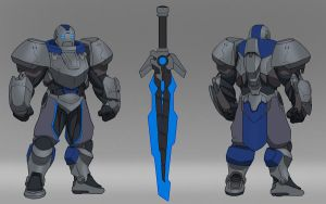 PROJECT: Garen (concept) by TheMaestroNoob