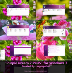 Purple Dream 7 PLUS for Win 7 by sagorpirbd