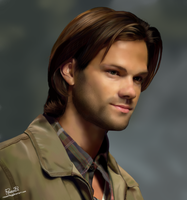 Sam Winchester by Rousetta