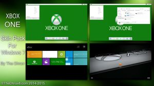Xbox ONE Skinpack by TheDhruv