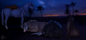 HotS | Peaceful Night | Story by FeatherCandy