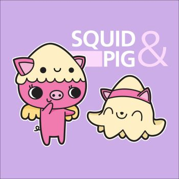 CONTEST: Squid and Pig by ThePeasyLifeCo