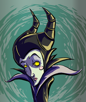 Innocent Maleficent by CraigArndt
