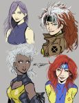 female X-men-concept sketch by Mark-Clark-II