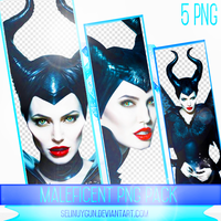 Maleficent PNG Pack by SelinUygun