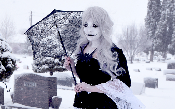 Genderbend Jack(ie) Skellington by IceDragonCosplay
