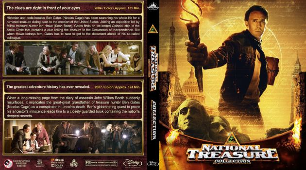 Blu-ray - National Treasure Collection by Morsoth