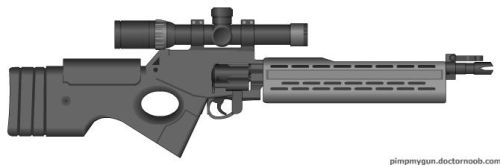 Revolver Rifle Mk.2 by MacArther