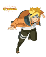 Boruto Orange Jacket by Marcinha20