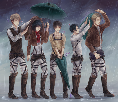 SnK: Chain of Command by Fiveonthe