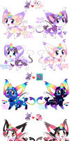 Unicat Adoptables CLOSED by RayFierying