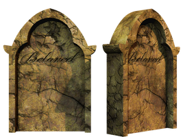Grave 7 PNG Stock by Roy3D