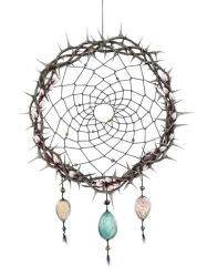 Easter dreamcatcher by Gogolle