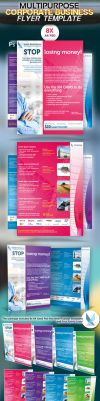 Multipurpose Corporate Business Flyer by squizmo