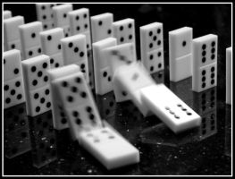 Toppling The Second Domino by turkeyphant