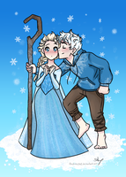 Day 11: Jack and Elsa by Andrea365