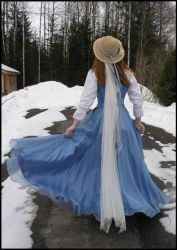 Bluebell Dress VI by Eirian-stock