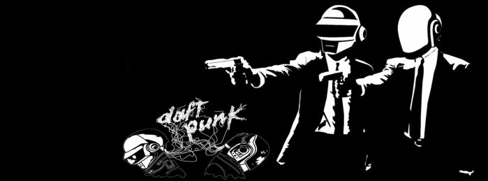 DAFT PUNK FACEBOOK COVER by douglasfany