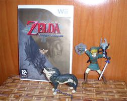 Link  Wolf figure handmade commision by Ishtar-Creations