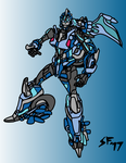 Robots in Disguise Arcee by Number1Exile
