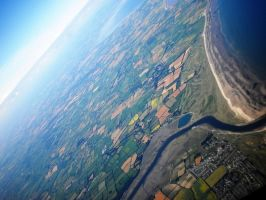 Ireland from the Air by tinuvielluthien