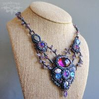 Dream Garden Necklace by Beadmask