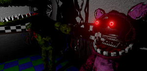 Withered Polly and Larry in Unreal Engine 4! by ANGUs-GAMEs