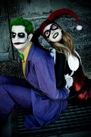 Harley / Joker - Not too bad by FioreSofen