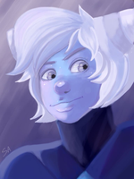 Holly Blue Agate by SpookAlien