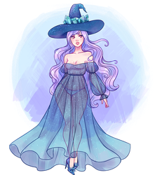 crystal witch by stardust-palace