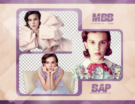 Pack Png 777 // Millie Bobby Brown by BEAPANDA